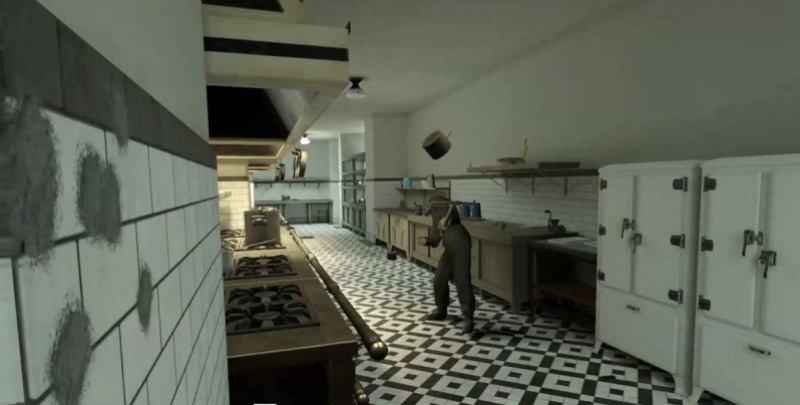 Yes, you can throw a pot at a Nazi in Medal of Honor: Above and Beyond.