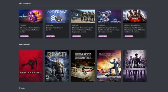 Discord Nitro's game library is going away.