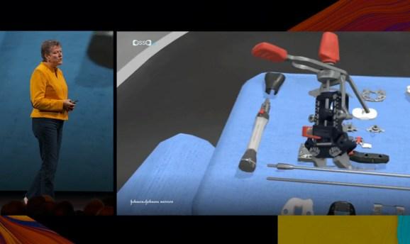Johnson & Johnson says VR surgery helps surgeons master procedures.