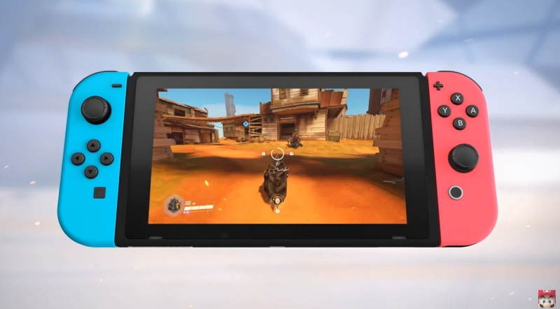 Overwatch on the Nintendo Switch