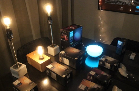 A new wave of Philips Hue smart lighting products.