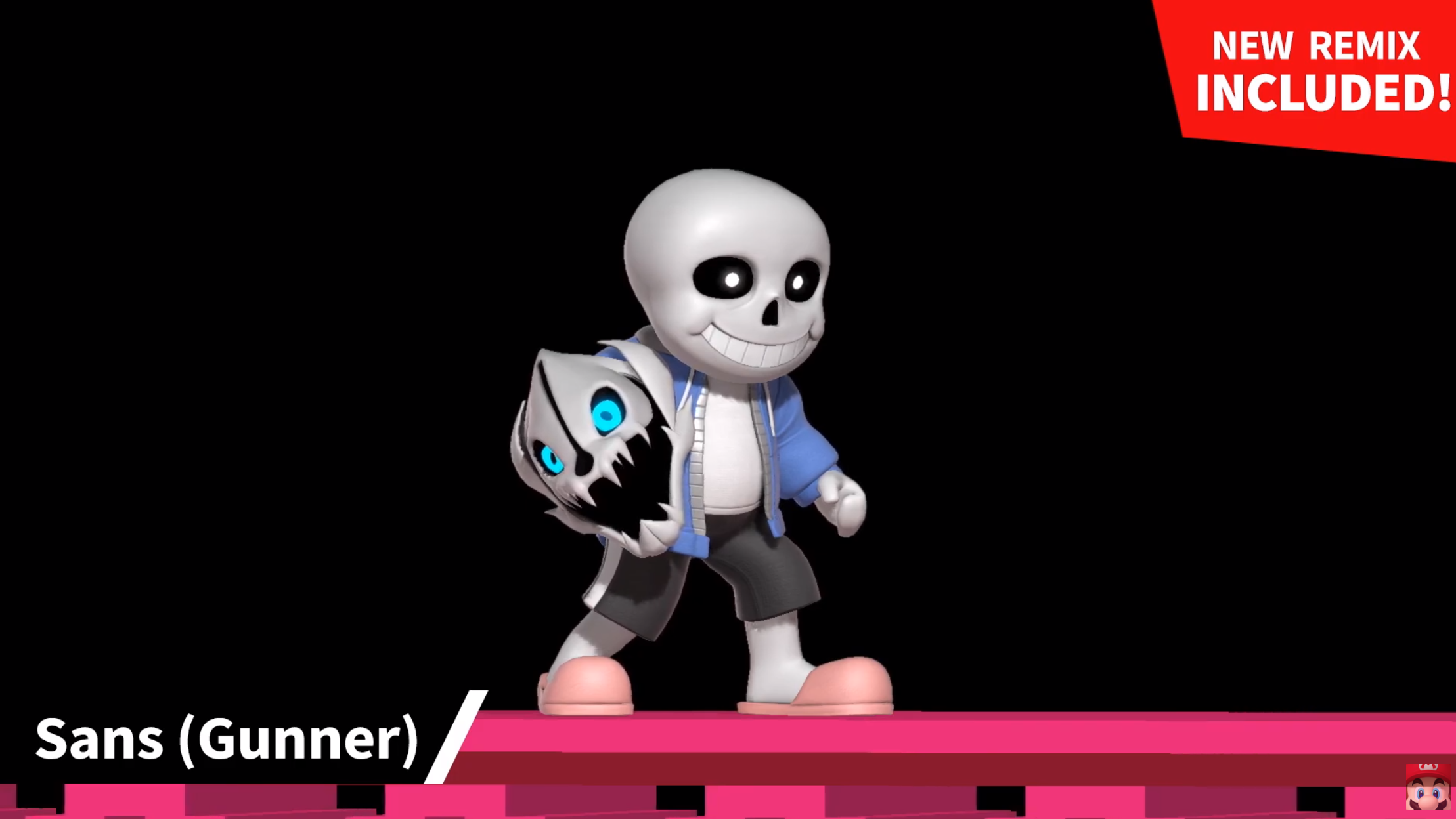 Undertale's Sans becomes a costume in Super Smash Bros