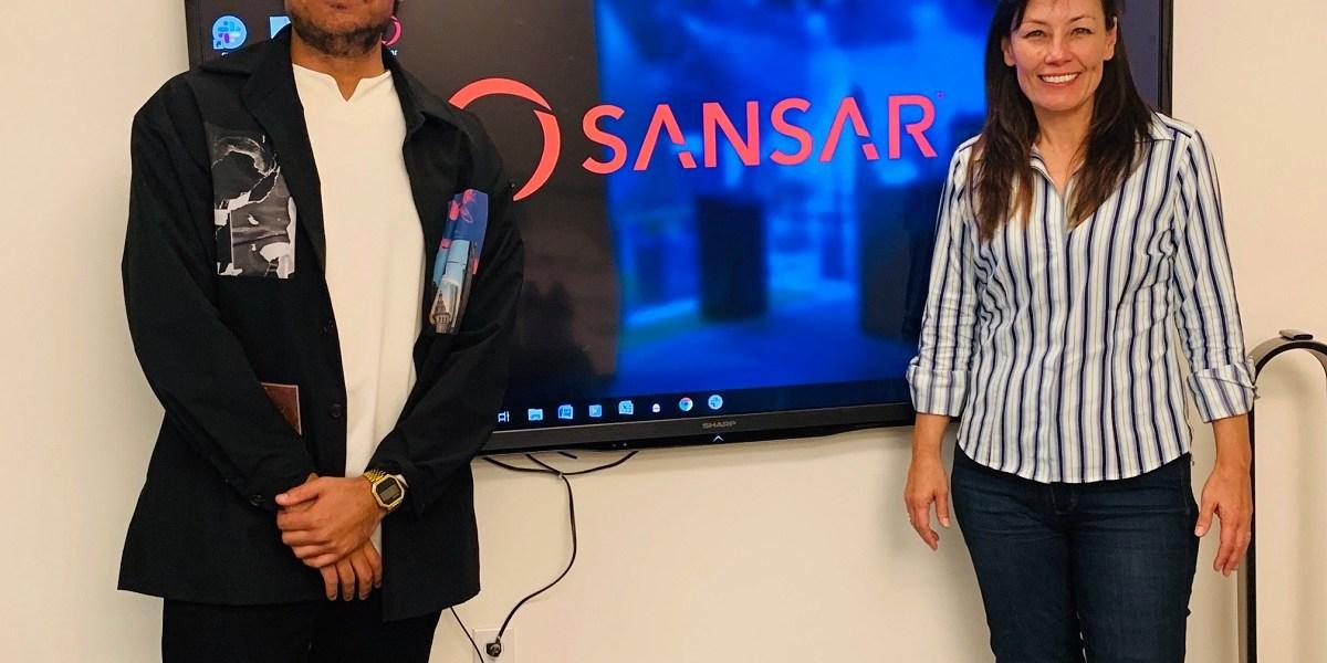 Hari Raghavan and Sheri Bryant of Linden Lab.
