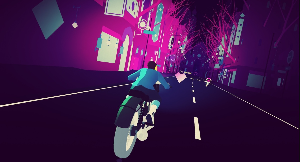 Sayonara Wild Hearts review — Dance-fighting with pop music and motorcycles is so fun