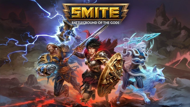Smite is a free-to-play multiplayer online battle arena game.