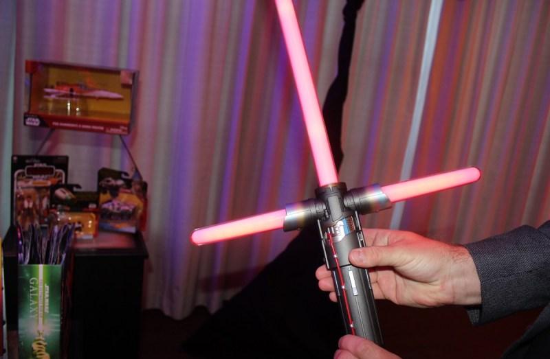 Kylo Ren lightsaber