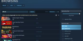 Steam's latest experiment tests beefier search features