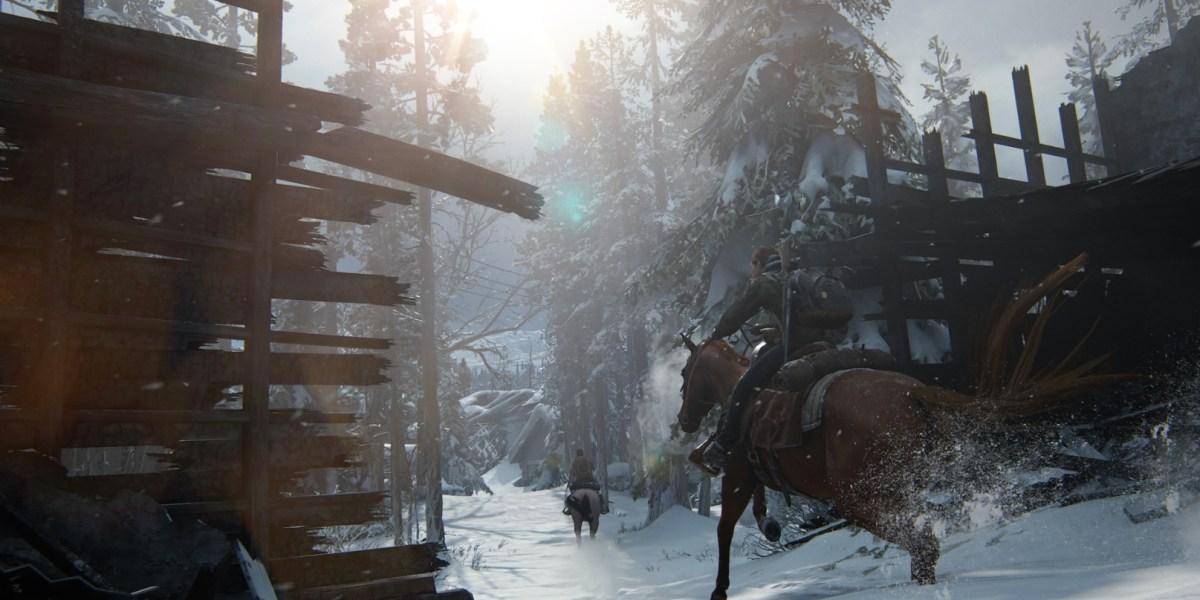 On patrol in The Last of Us Part II.
