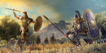 The wrath of Achilles in Total War Saga: Troy
