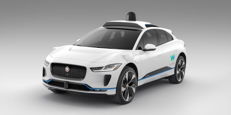 waymo self-driving i-pace