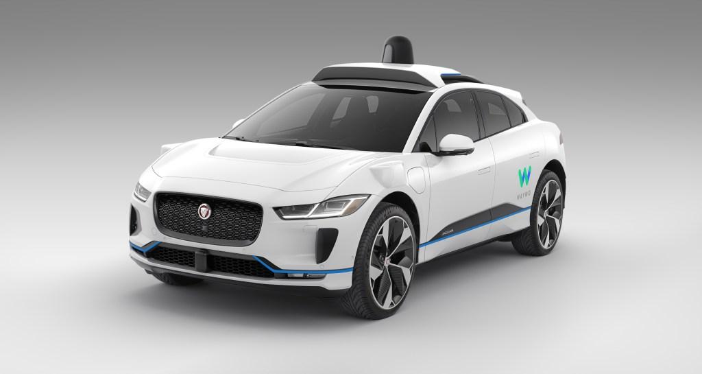waymo self-driving i-pace