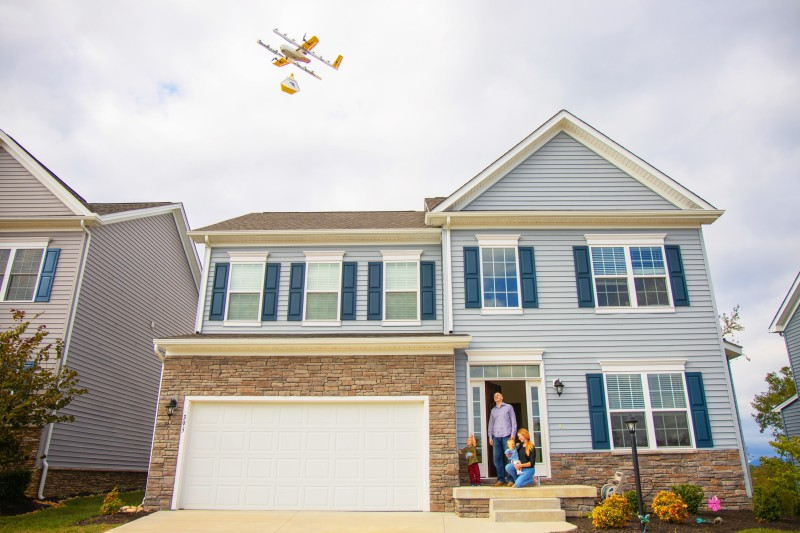 Wing launches drone delivery in Christiansburg, Virginia