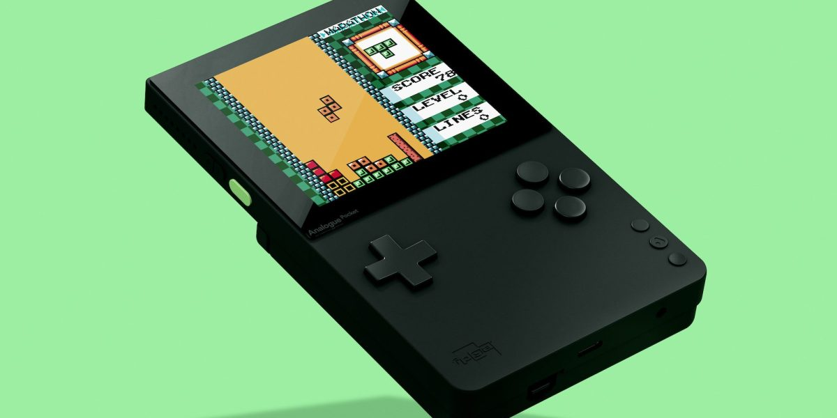 The Analogue Pocket is ready to take over handheld retro gaming .