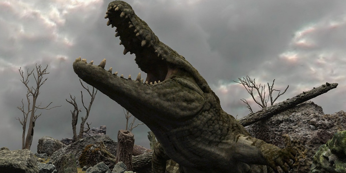 Atomontage alligator