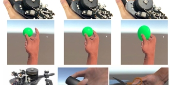 Microsoft shows off prototype VR controller with force-feedback for grasping