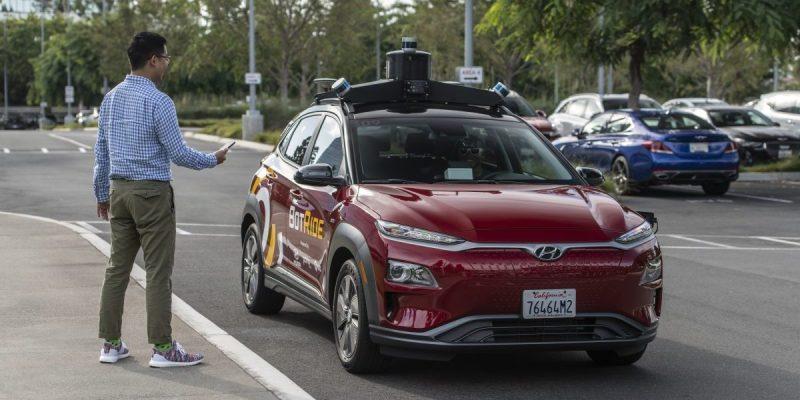 Autonomous vehicle startup Pony.ai raises $267 million at an over $5.3 billion valuation