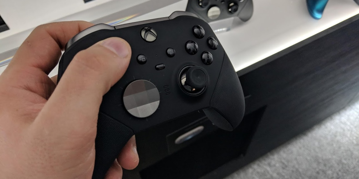 The Xbox Elite Wireless Controller Series 2.