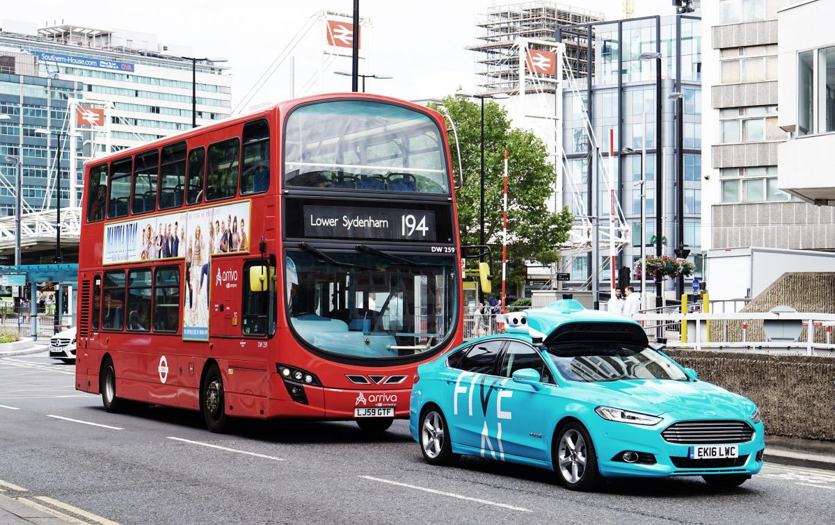 U.K. research consortium launching nation's largest self-driving trial on public roads