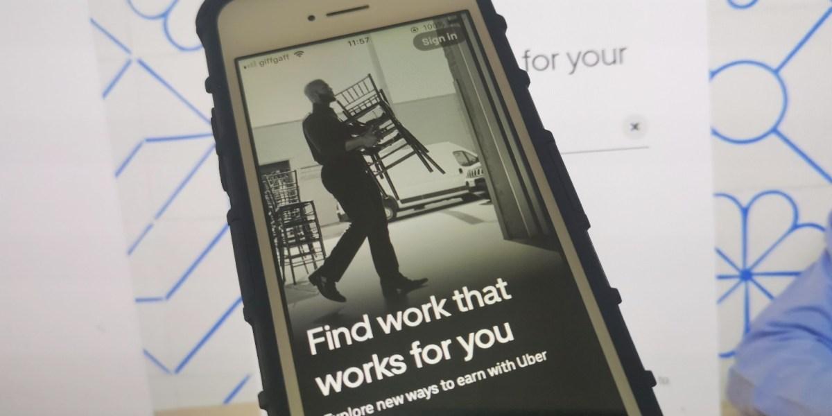 Uber Works app