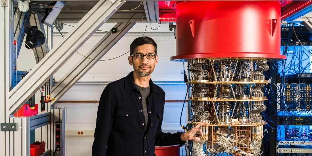 Google CEO Sundar Pichai announces quantum supremacy