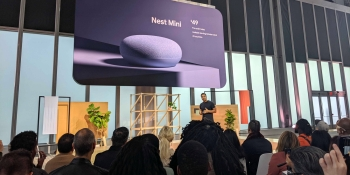Google debuts Nest Mini with wall mount and dedicated ML chip