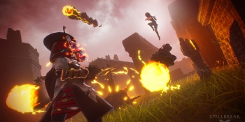 Spellbreak is a chaotic, magic-slinging take on battle royale