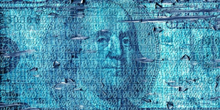 An image of a digitized $100 bill.