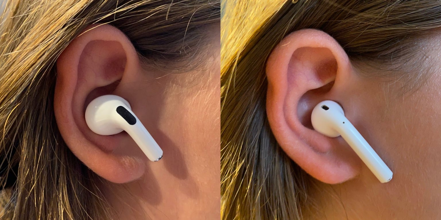 Apple Airpods Pro Hands On Smaller Stems Superior Sound Same
