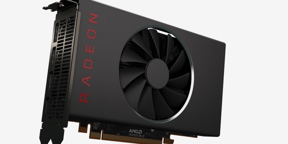 AMD Radeon 5500 series graphics card