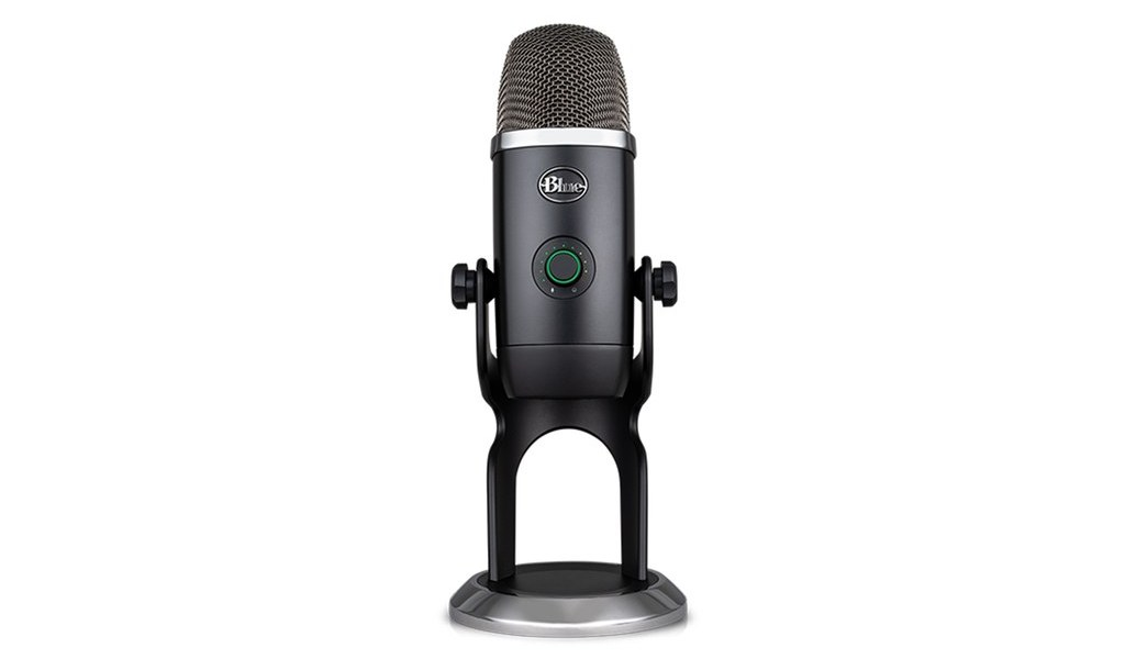 Blue Yeti X USB microphone.