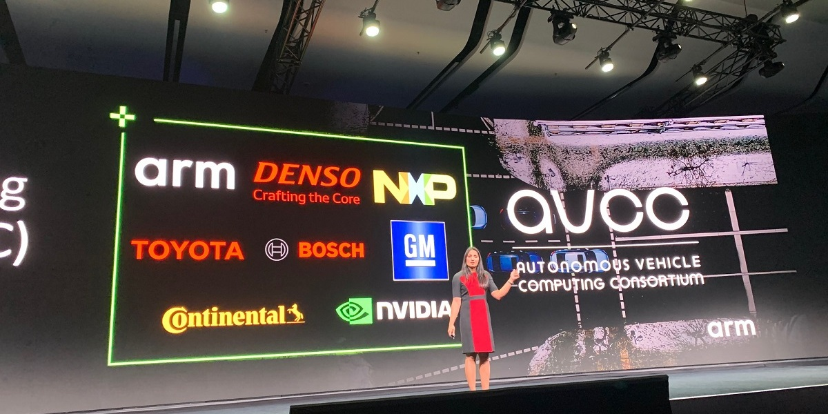 Dipti Vachani of Arm announces Autonomous Vehicle