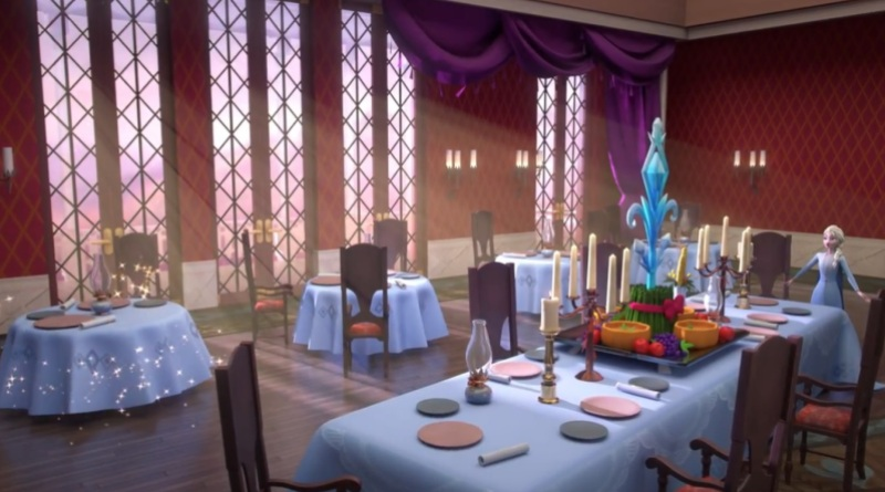 Disney Frozen Adventures lets fans decorate their fantasy palace.