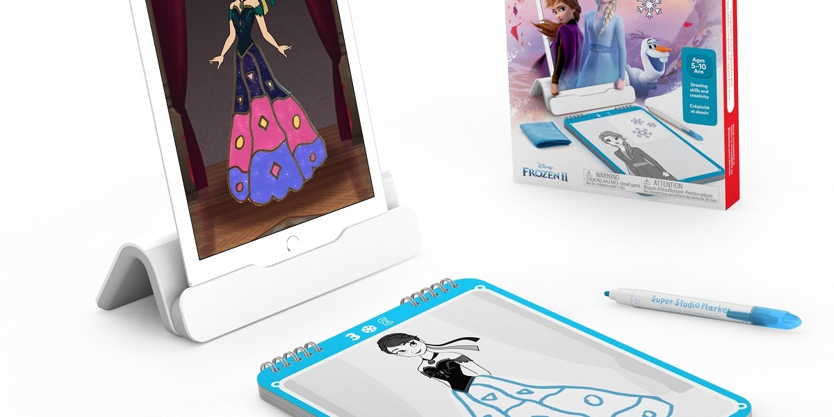 Osmo and Disney created a drawing app for Frozen 2.