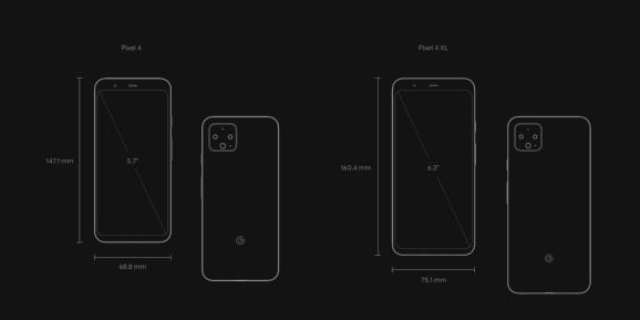 Google Pixel 4 and Pixel 4 XL specs