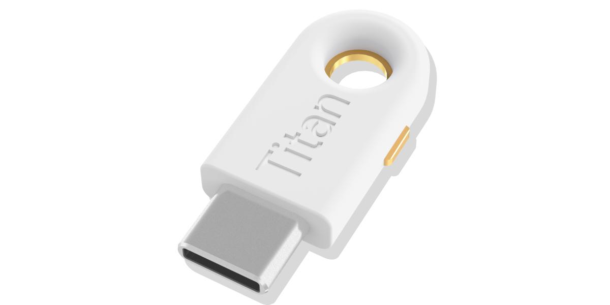 Google Titan Security Key USB-C