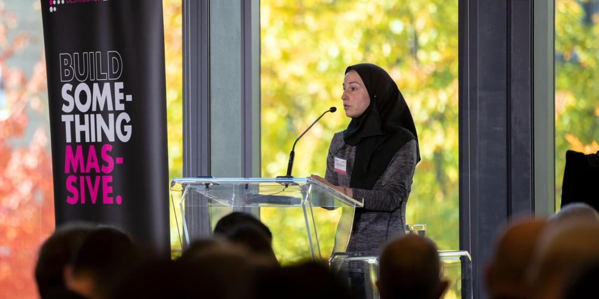 Marzyeh Ghassemi at the Machine Learning and the Market for Intelligence in Toronto