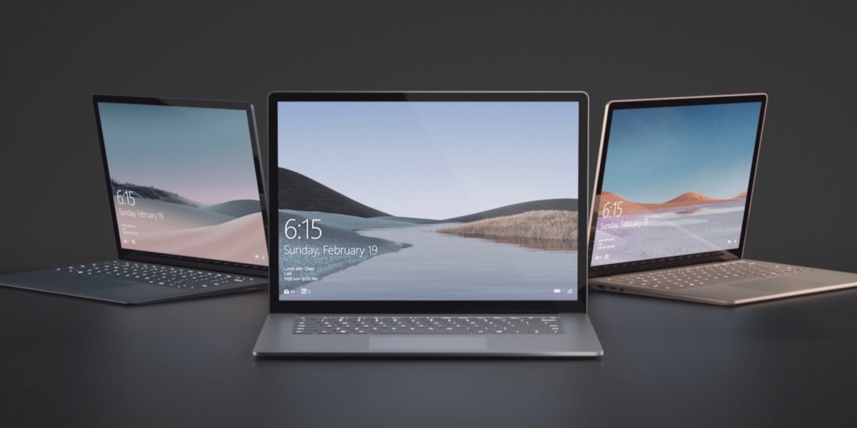 microsoft surface event surface laptop 3