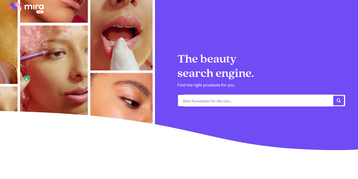mira beauty search engine 2