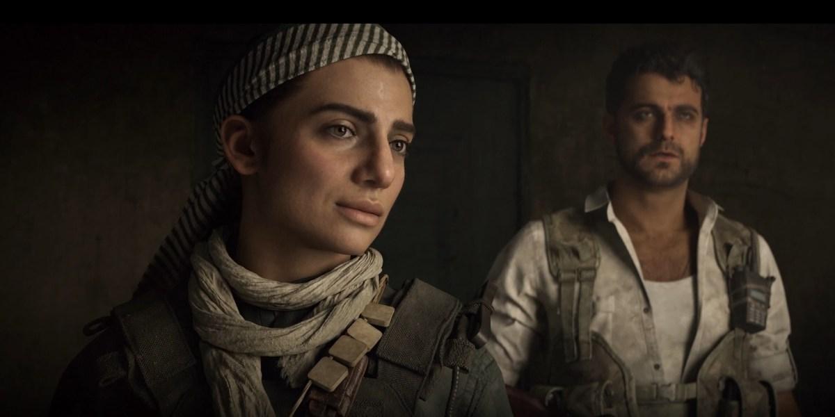These are friends, not enemies, in Modern Warfare.