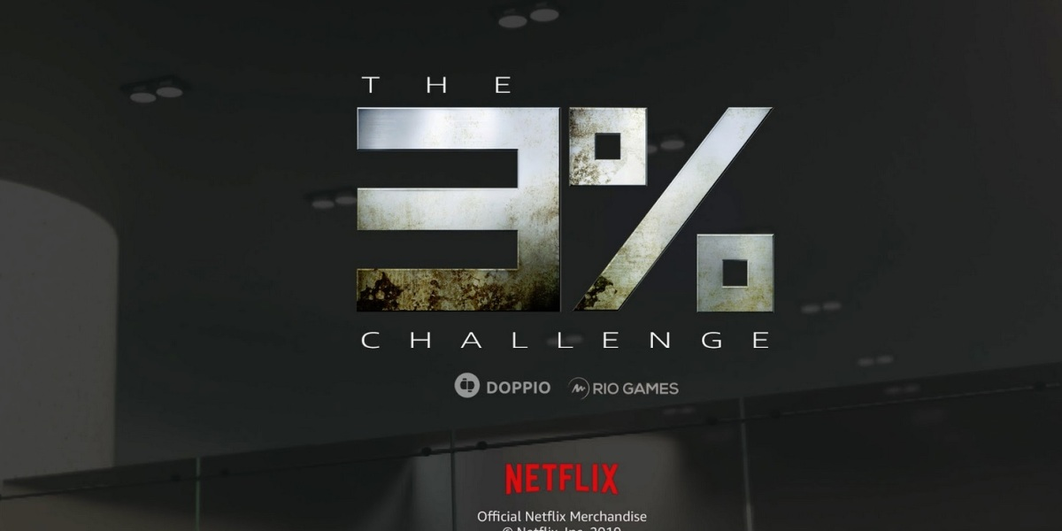The 3% Challenge from Doppio, Rio Games, and Netflix.