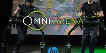 HP and Virtuix have teamed up for VR esports.