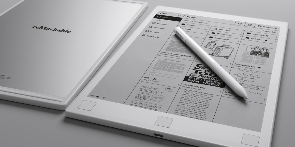 Remarkable digital paper tablet