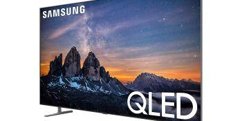 Samsung q80R QLED TV.