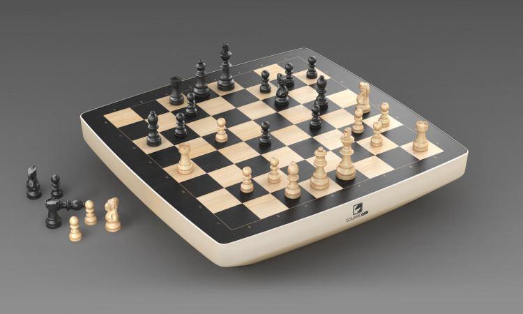 Square Off's chess board