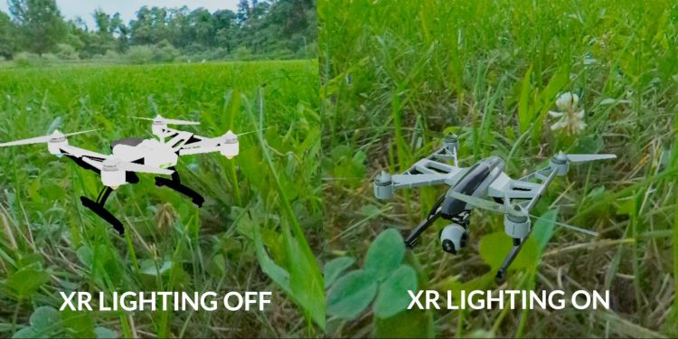 Verizon's Envrmnt develops 5G network-ready XR technologies, including interactive realtime lighting service that makes digital objects blend into their real environments.