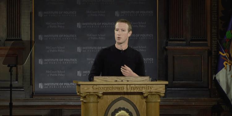Mark Zuckerberg @ Georgetown