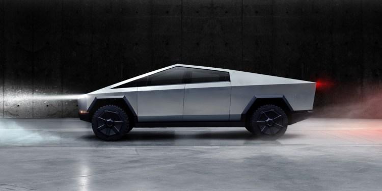 Tesla's electric pickup truck Cybertruck