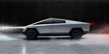 Tesla's electric pickup truck Cybertruck