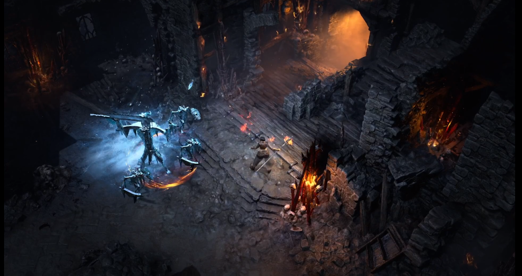 Diablo IV in action.