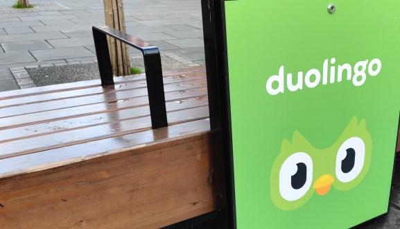 Duolingo sign in London. November 24, 2019.